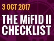 2017 The MiFID II Checklist: Final Call