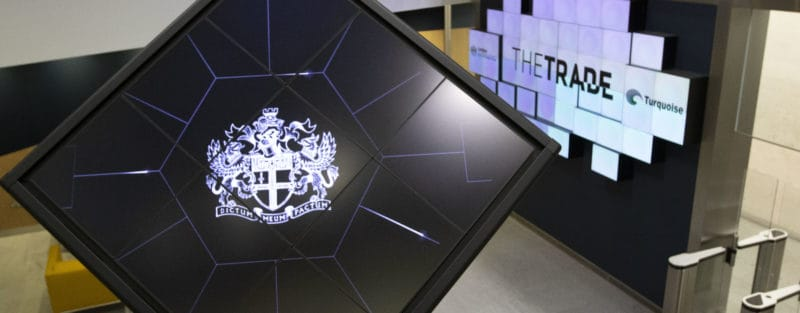The TRADE conducts London Stock Exchange closing auction